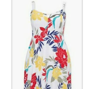 Forever 21 Plus Foral Print Dress